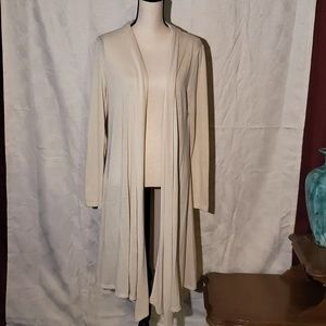 Rags and couture knew length open Cardigan XL